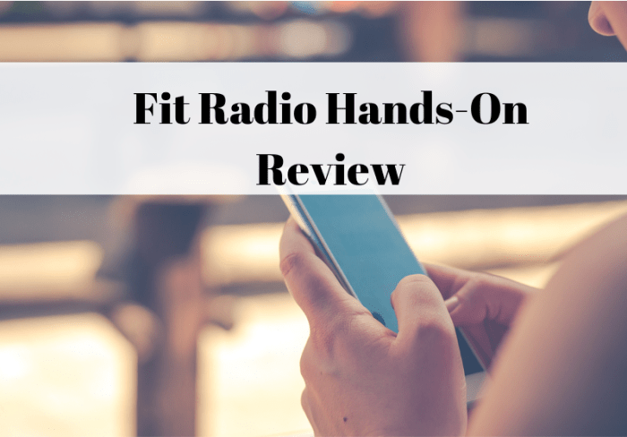 Fit Radio review