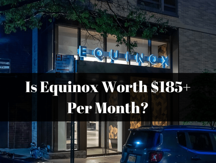 An Equinox fitness gym