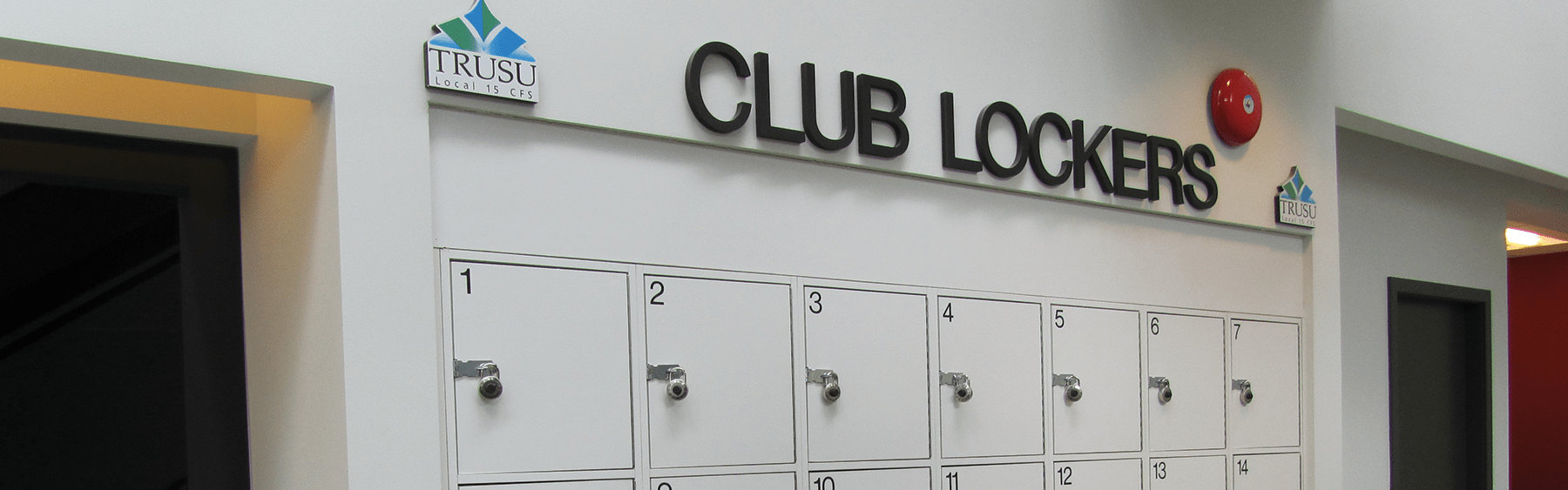 Club lockers Header