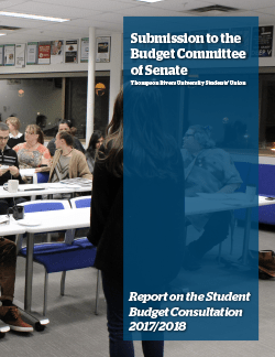 Student Budget Consultation Report 2016