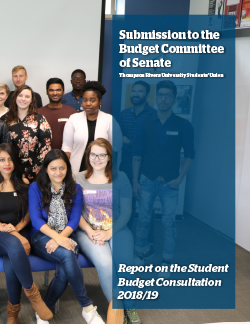 Student Budget Consultation Report 2018