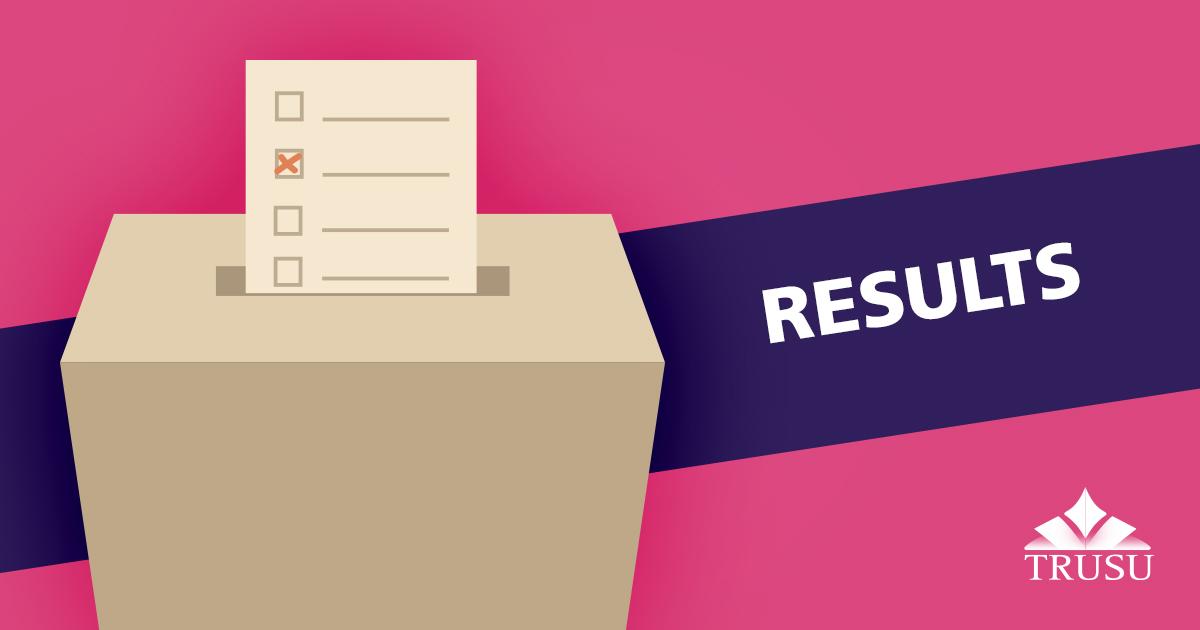 2018 TRUSU Election Results