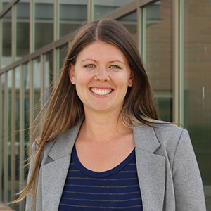 Communications Coordinator Natalie Reisle