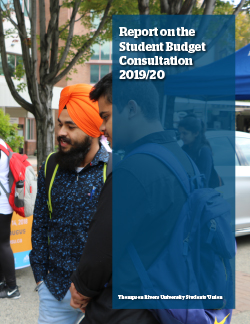 Student Budget Consultation Report 2018