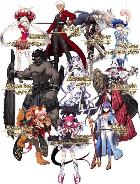 【心得】新手十連的首抽四星角點評 @Fate/Grand Order 哈啦板 - 巴哈姆特
