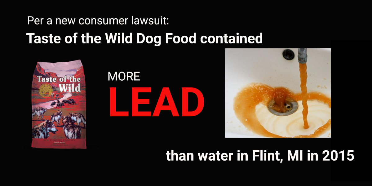 New lawsuit against Taste of the Wild – Truth about Pet Food