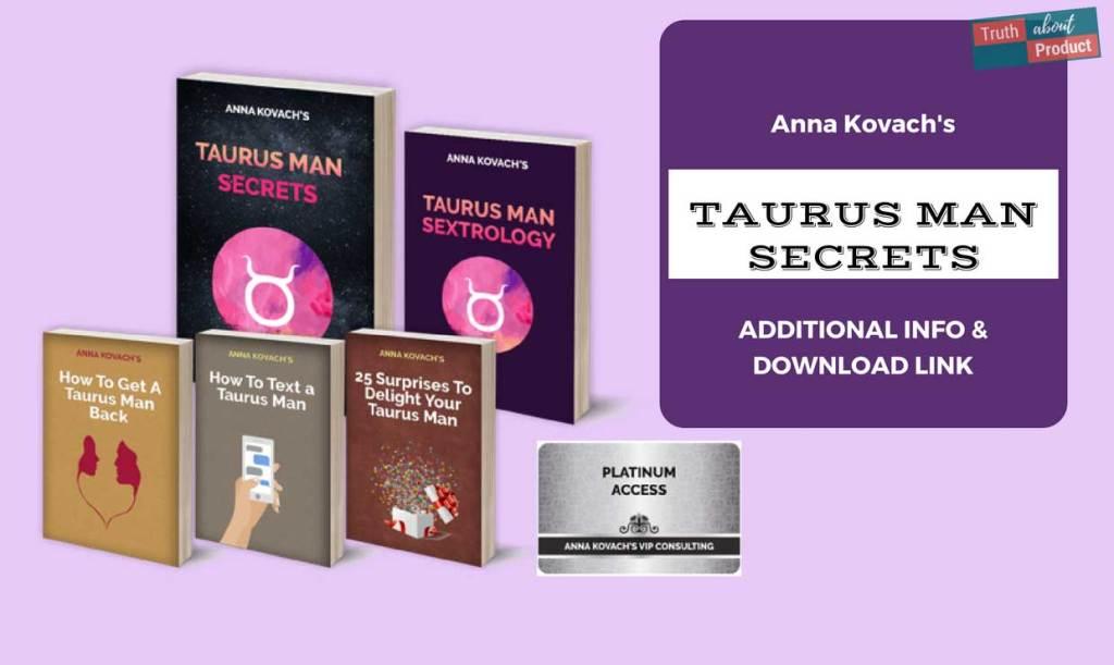 Taurus Man Secrets Featured image.