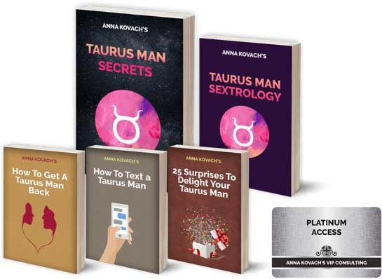 Taurus Man Secrets download. cover.