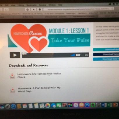 Module Lesson Page