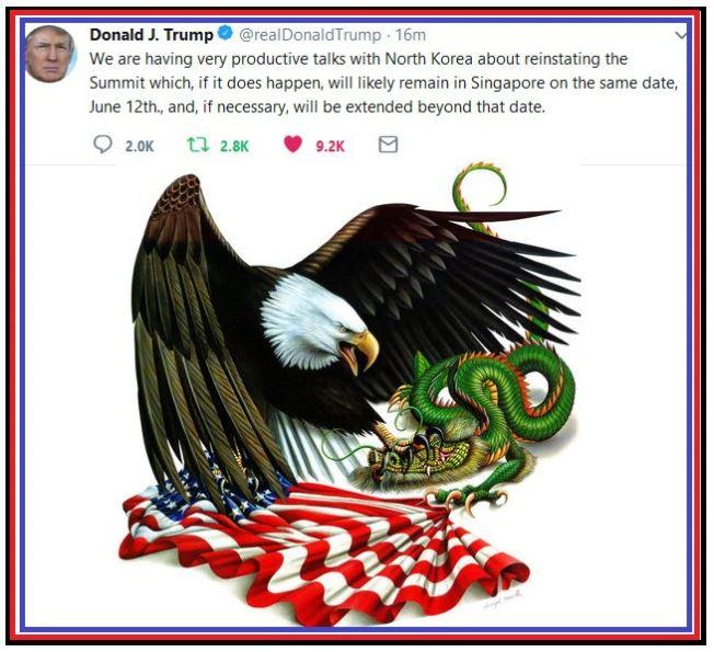 Trump tweet eagle