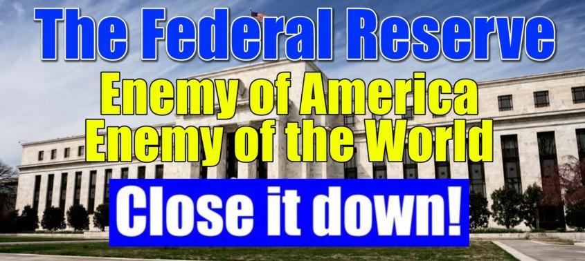 close federal reserve