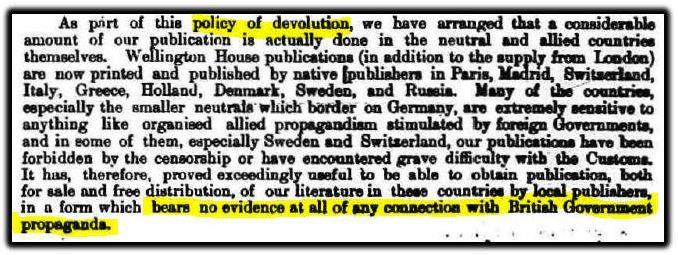 policy of devolution