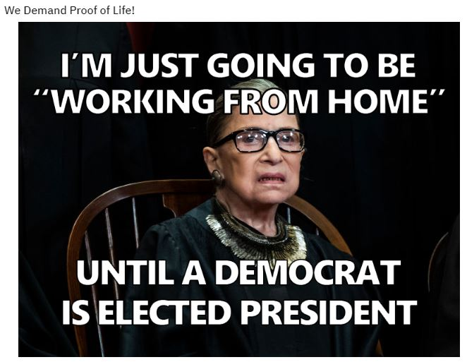 demand proof of life ginsberg