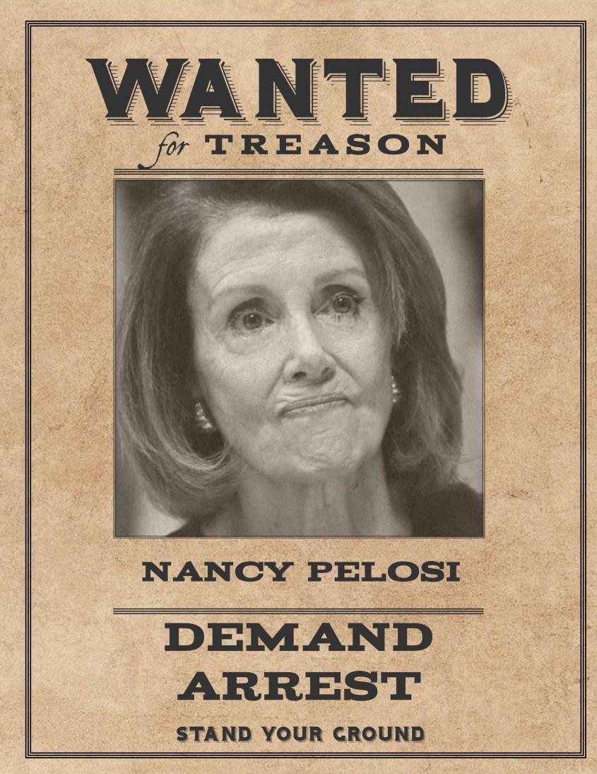 Wanted Nancy Pelosi