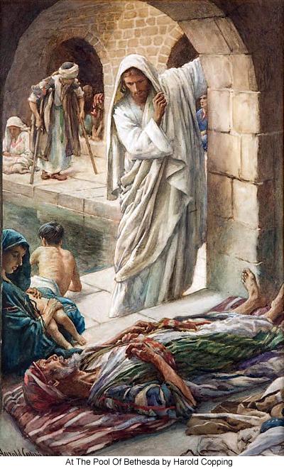 Image result for jesus bethesda