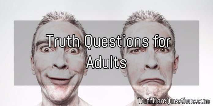 List of truth questions for adults