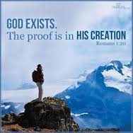 God exists proof in the creation