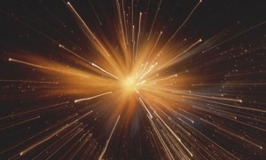 Big Bang Cosmos Explosion