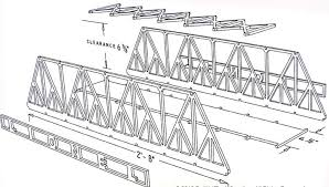 Warren's Truss Bridge design 1