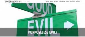 evil vs. good road sign