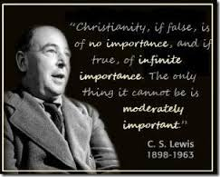 C.S. Lewis Picture and Quote