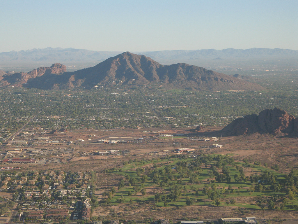 Camelback Mountain - Phoenix, Arizona. The location of Mary's 1981 sighting of a dragonfly drone.