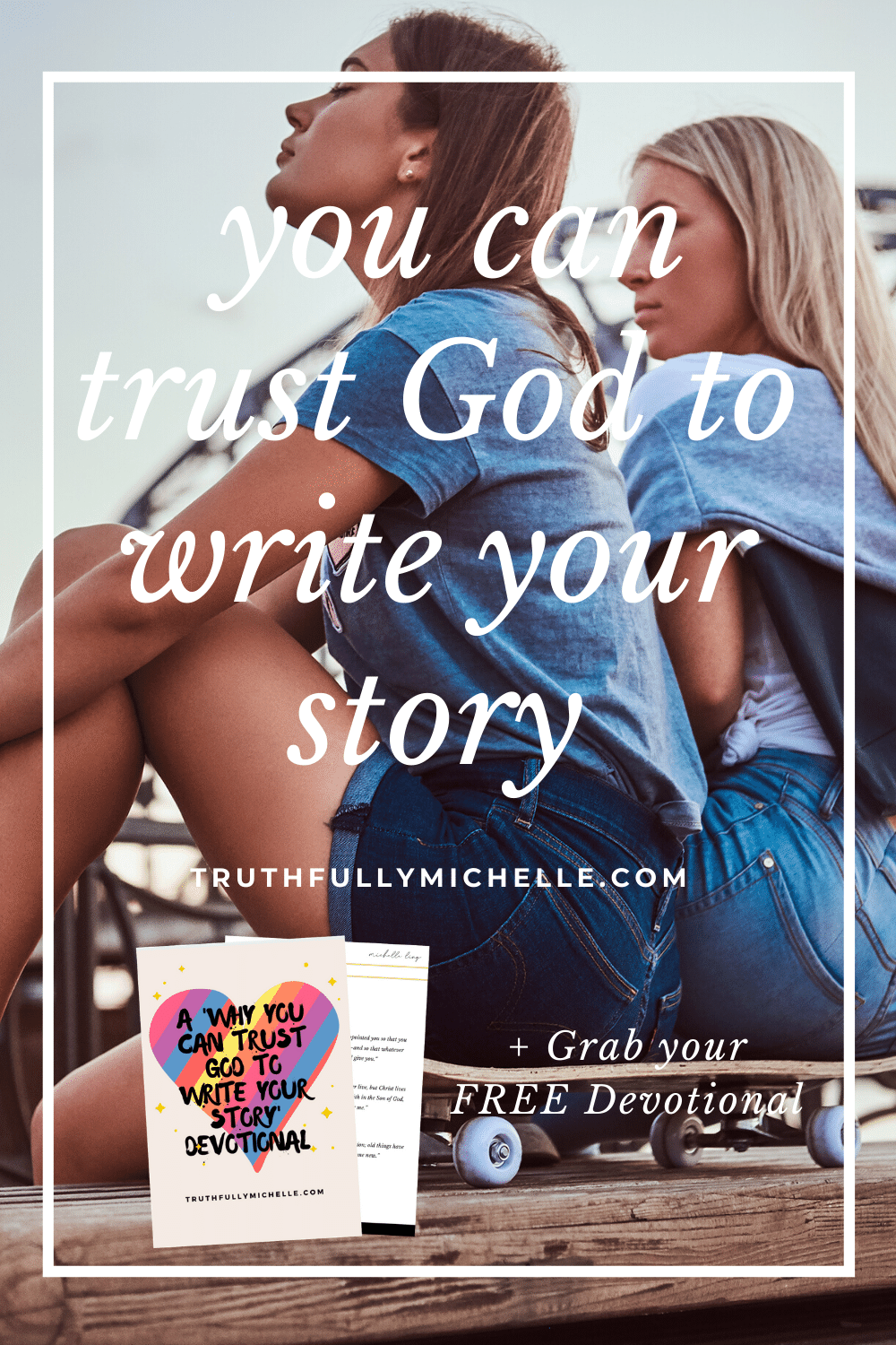 God is still writing your story, you can trust God to write your story, God's not done writing your story, God is writing your story, God writes your story, trust God to write your story