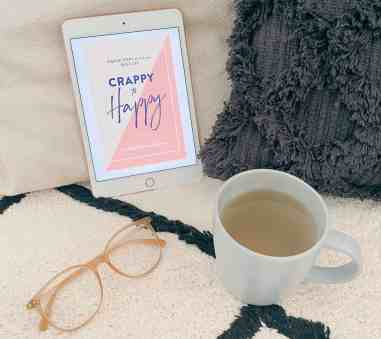 Happiness books -Crappy to Happy - Cassandra Dunn