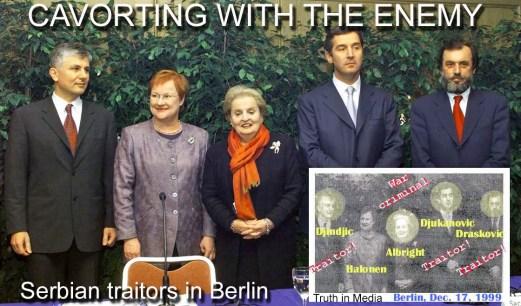 Serbian traitors in Berlin