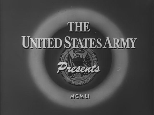"A screenshot from ''The Big Lie"", a 1951 anti-communist propaganda movie by the U.S. Army."