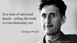 Telling the Truth is a Revolutionary Act