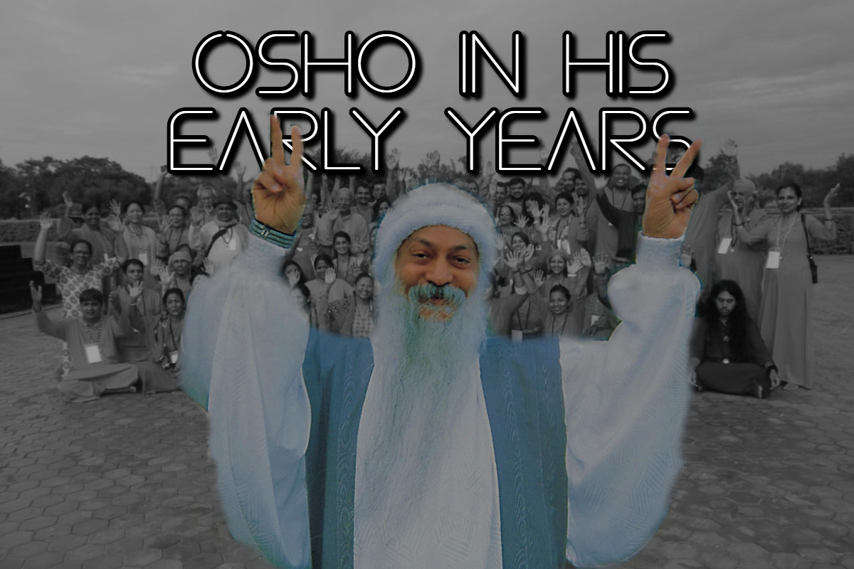 Osho in his early years
