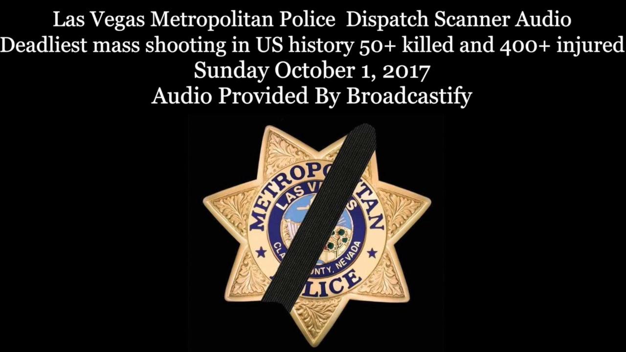 Analysis of Las Vegas Shooting Police Scanner Audio- Are