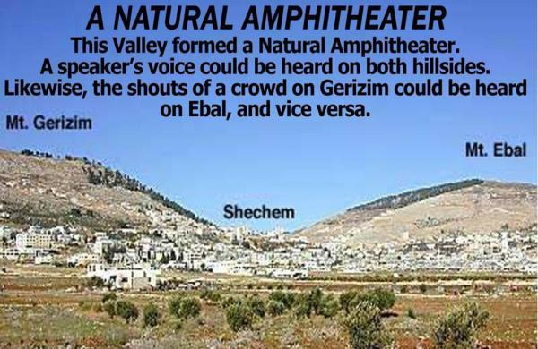 mount gerizim and mount ebal - Truth Snitch