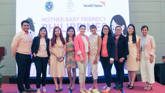 world vision mother baby ph ad launch