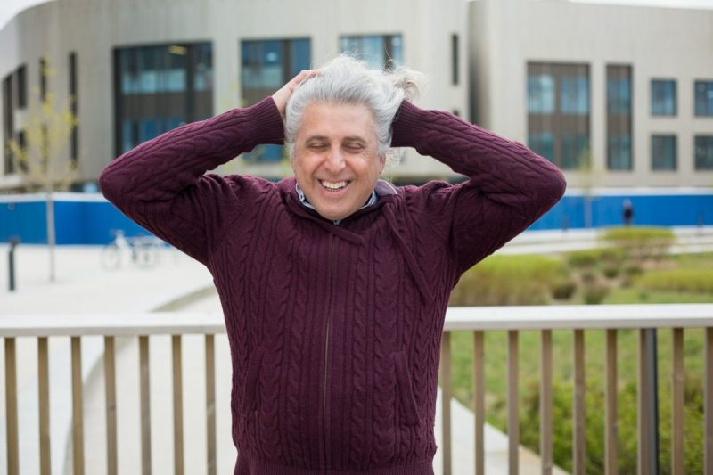 Portrait photograph of Executive Editor, British Medical Journal Kamran Abbasi