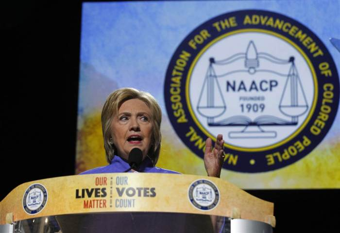 HILLARY CLINTON Tells Police To Quit Killing Black People At NAACP Convention (VIDEO)