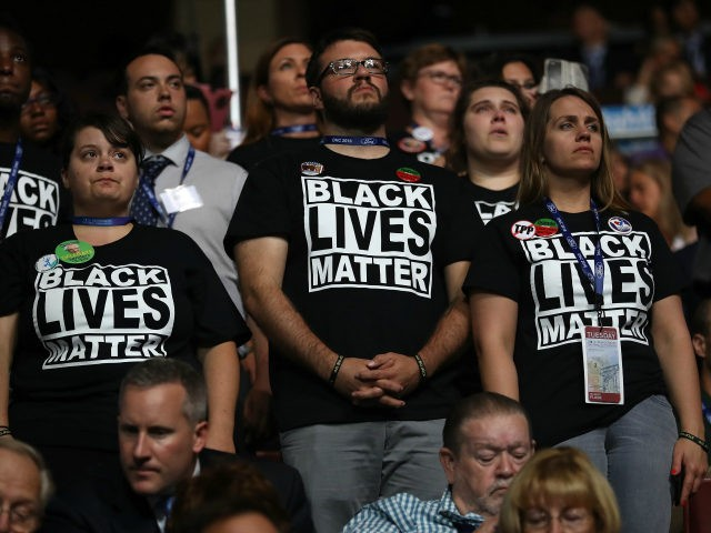 Black Lives Matter Protesters Interrupt DNC Moment Of Silence For Fallen Police Officers (Video)