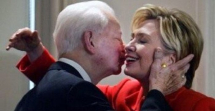 "Hillary Slams 'KKK' Trump But Her ""Friend and Mentor"" Was KKK Leader Robert Byrd (Video)"