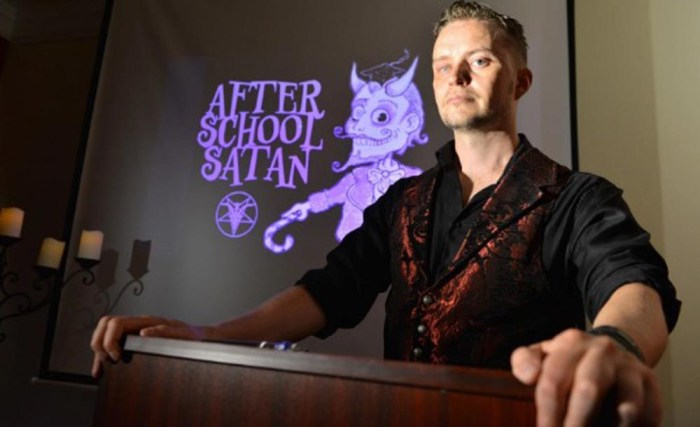 An After School Satan Club Could Be Coming To Your Kid's Elementary School (Video)