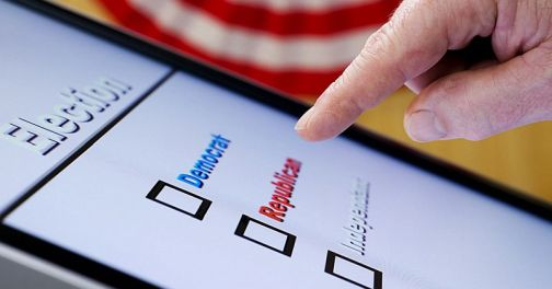 Electronic Voting - Hand