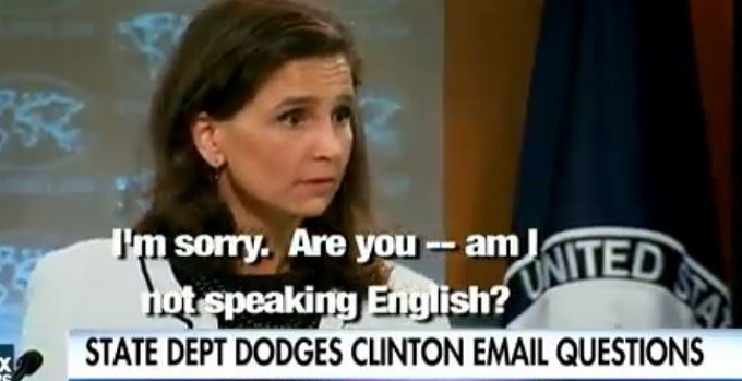 "Frustrated Reporter Questions State Dept On Emails: ""Am I Not Speaking English?"" (Video)"