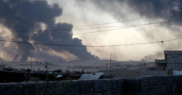 ISIS Attacked US Base In Iraq With Chemical Weapon (Video)