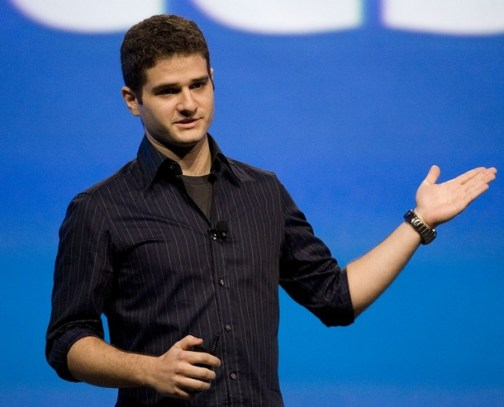 SAN FRANCISCO - OCTOBER 24: Dustin Moskovitz, co-founder of Facebook, delivers his keynote address at the CTIA WIRELESS I.T. & Entertainment 2007 conference October 24, 2007 in San Francisco, California. The confernence is showcasing the lastest in mobile technology and will run through October 25. (Photo by Kimberly White/Getty Images)