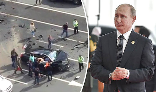 Assassination Attempt? Putin's Favorite Driver Killed In Crash In Official Presidential BMW (Video)