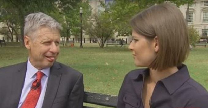 WATCH: Gary Johnson Stuck His Tongue Out At A Reporter … Seriously