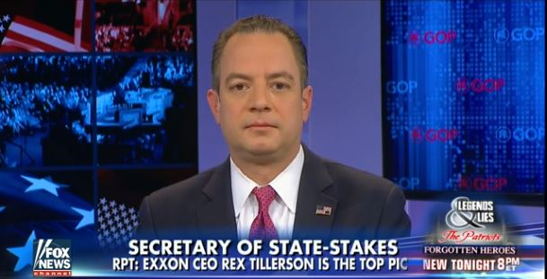 Reince Priebus Delivers Trump's Take On CIA, FBI Russia Hacking Report (Video)