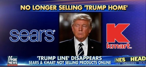 Sears, Kmart Are Latest Retailers Reportedly To Drop Trump Merchandise (Video)