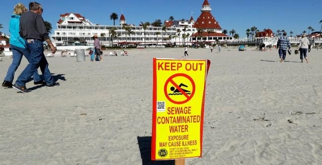Mexican Sewage Routinely Fouling San Diego Beaches And Ocean Waters (Video)