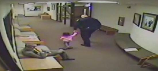 Surveillance Video Goes VIRAL After It Shows What Police Officer Did With Little Girl…